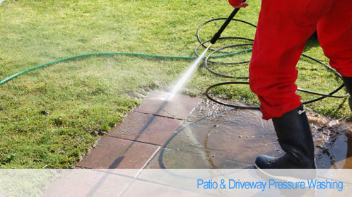 Tom the Window Cleaner - Patio & Driveway Pressure Washing